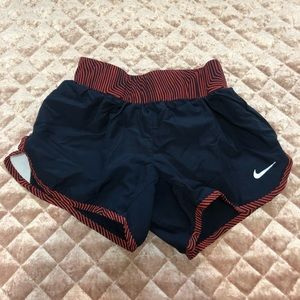 Nike Kid's Navy and Red shorts